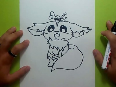 Como dibujar a Gnar paso a paso - League of Legends | How to draw Gnar - League of Legends