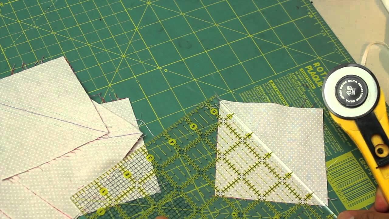 Como hacer cuadrado de patchwork- Block #7