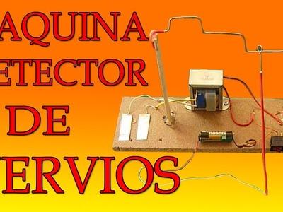 Cómo Hacer Una Máquina Detector De Nerviosismo (muy fácil de hacer)