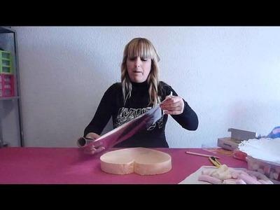 Como hacer una tarta de chuches www.masquetejas.com