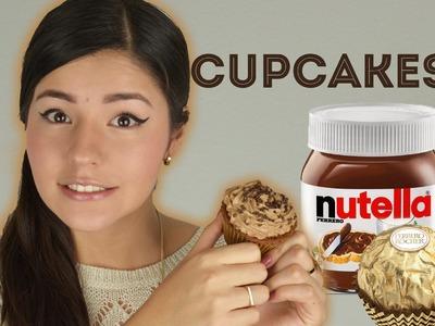 CUPCAKES DE NUTELLA Y FERRERO | MUSAS
