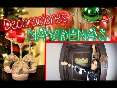 DECORACIONES para NAVIDAD!!