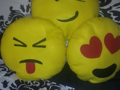 DIY Cojines De Emoticones