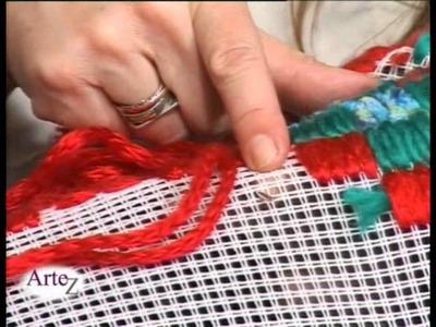 El arte de los tapices en cañamazo