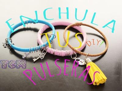 Enchula Tus Pulseras.DIY.Mon♥