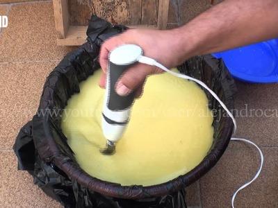 Fabricación de jabón casero y líquido