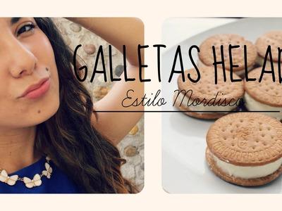 GALLETAS HELADO- Estilo mordisco- + SORTEO ♥Angy