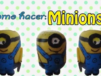 MINIONS de mi Villano Favorito (DIY, RECICLAJE, PASO A PASO)
