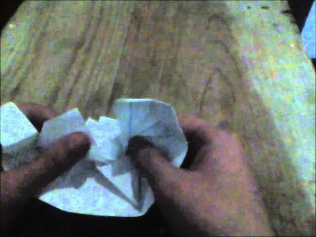 Origami explicado en español(S.A.C.R):Corazon de caja