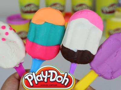 Paletas de Plastilina| Play-Doh Popsicles Play Doh en Español| Mundo de Juguetes