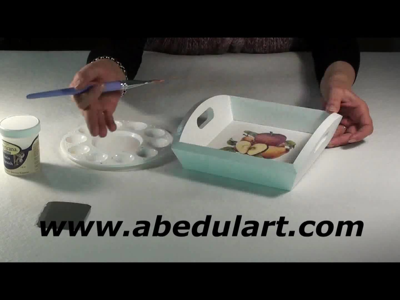 Tienda de Manualidades Abedul Art | Decoupage en madera