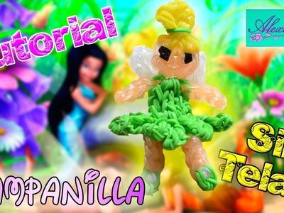 ♥ Tutorial: Campanilla de gomitas (sin telar) ♥