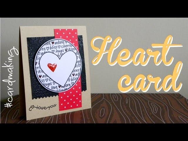 Valentine's Day: Heart card