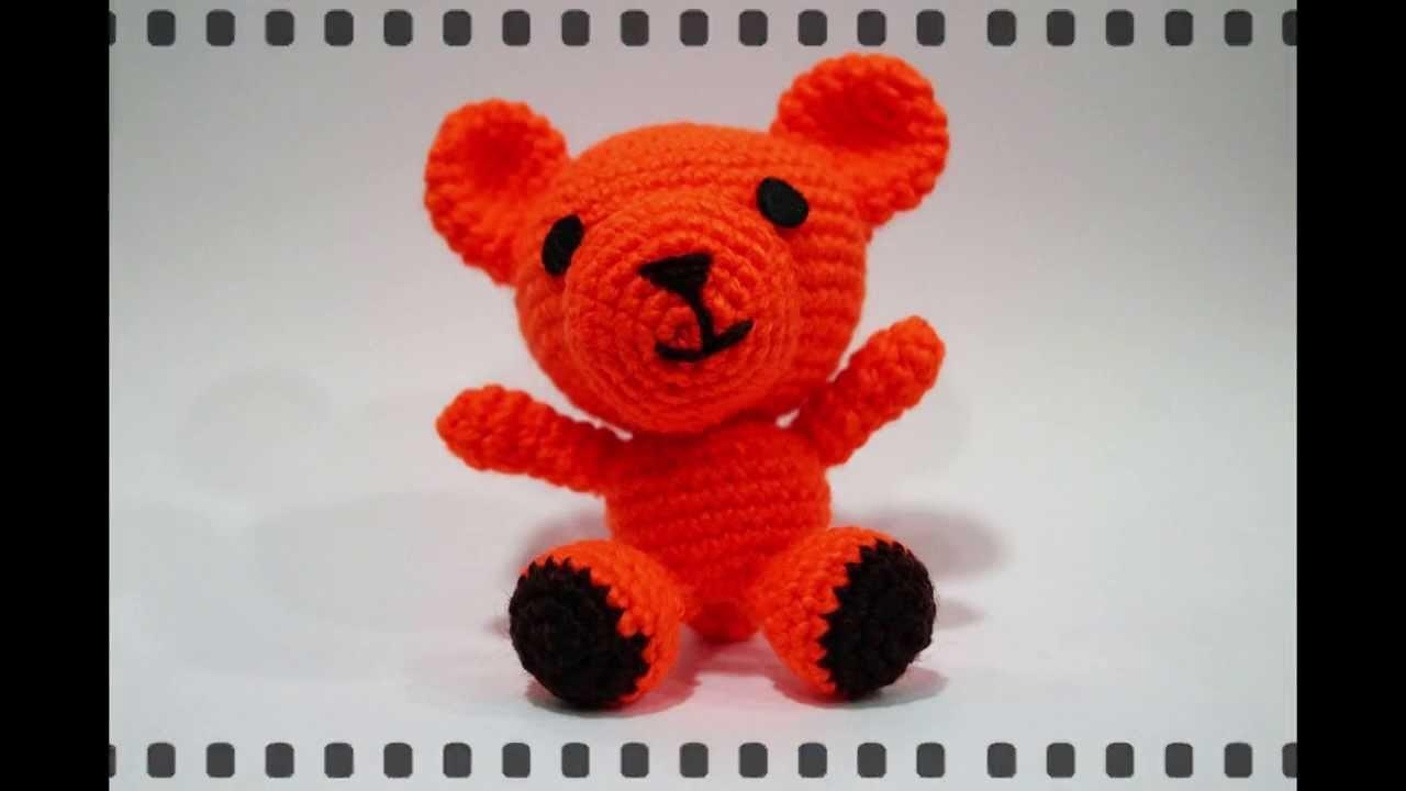 Osito Amigurumi Pink Crochet
