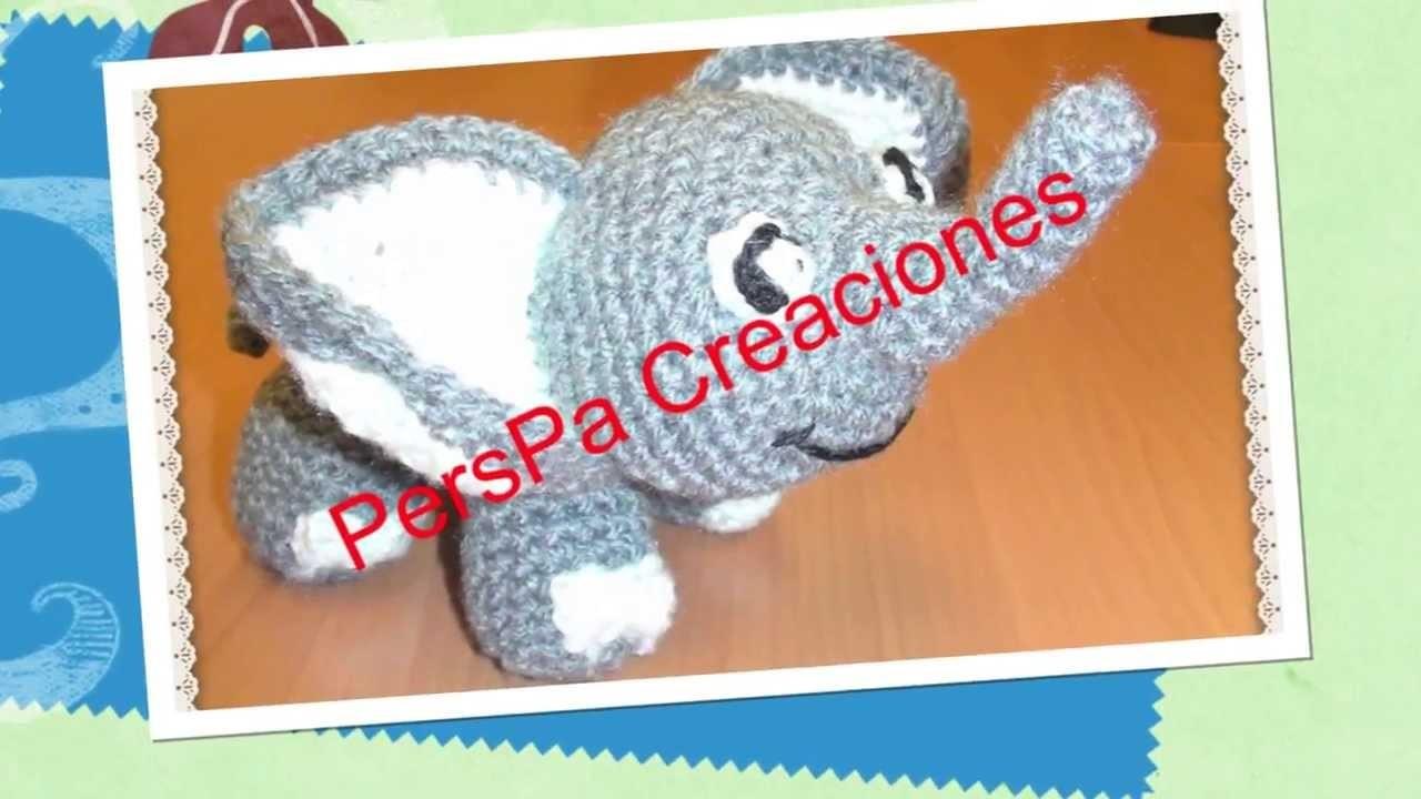 PersPa Creaciones: Amigurumi Elefante o Elephant