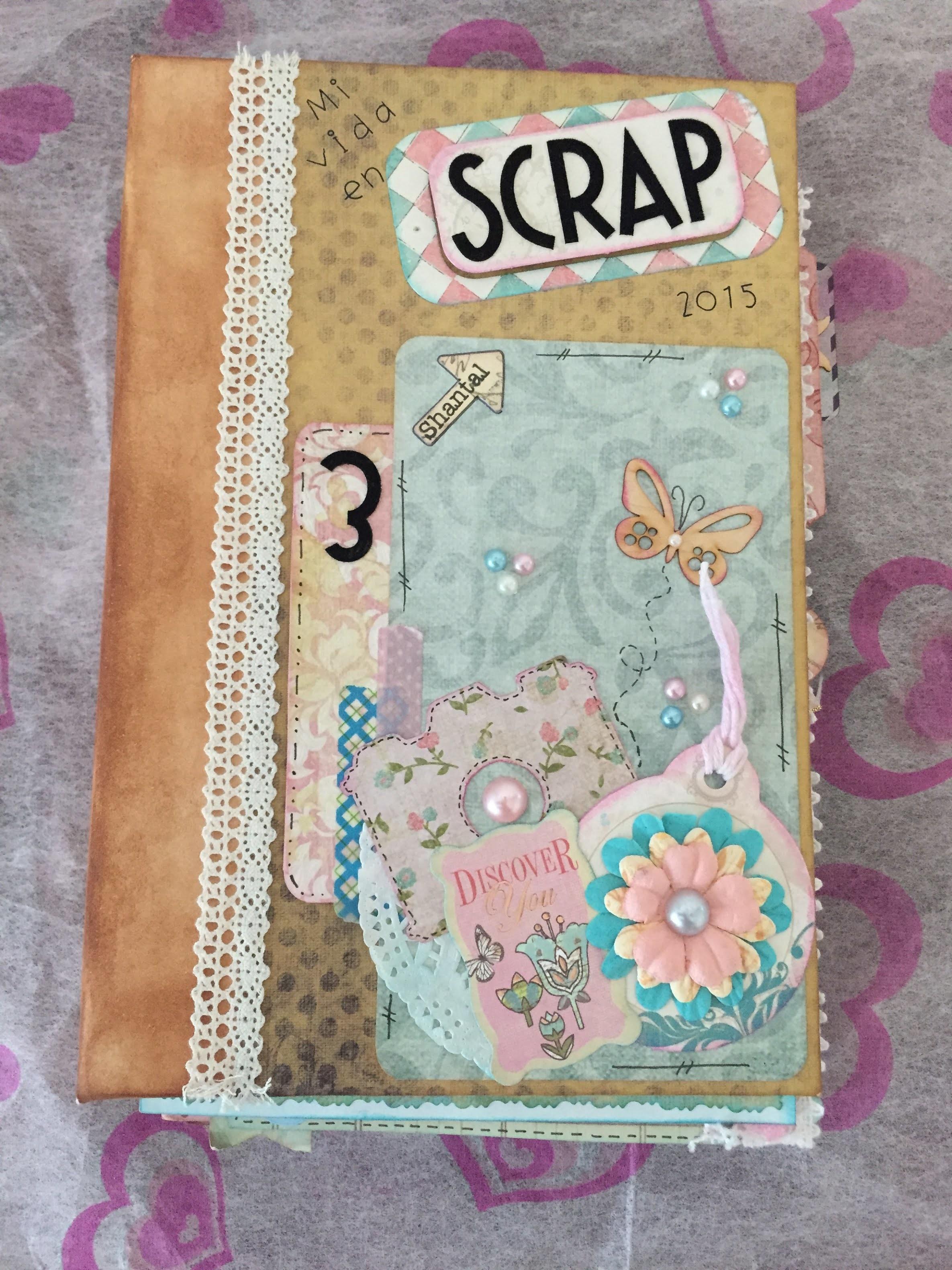 Participación Mi vida en scrap 3 (Scrapbook) de CREACIONES IZZY