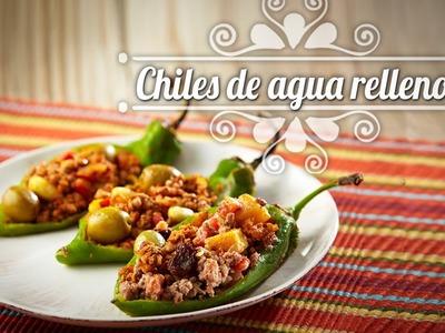 Chef Oropeza Receta para Dia de Muertos:Chiles de Agua Rellenos-Day of the Dead: Stuffed Chiles