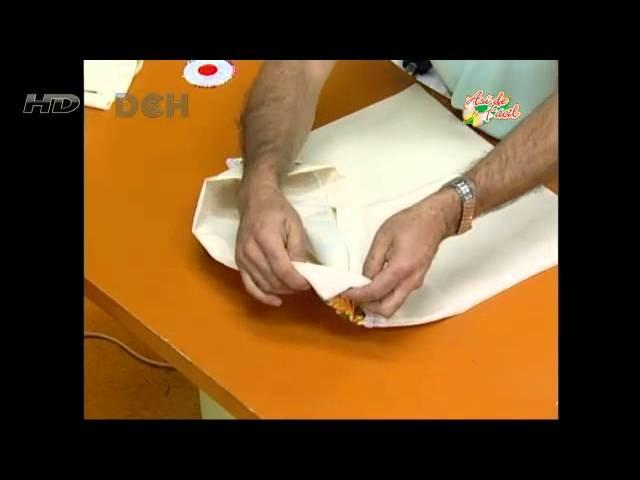 3º clase: Vistiendo la cocina (bolsa para el pan)