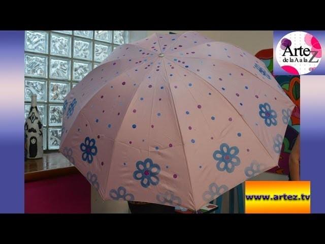 Aprende cómo decorar un paraguas
