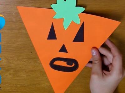Banderillas de decoración para Halloween (3ª Parte - Calabaza)