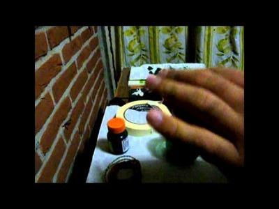 Como hacer arboles miniatura para dioramas (2da parte)