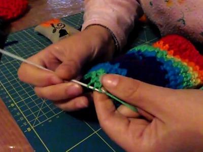 Cómo hacer un mitón a ganchillo