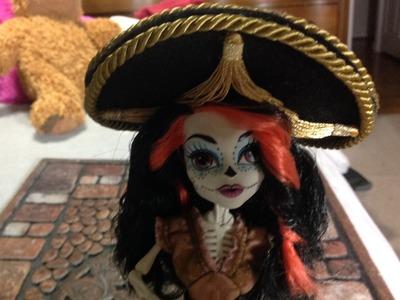 Como hacer un sombrero de Mariachi para Skelita Calaveras.