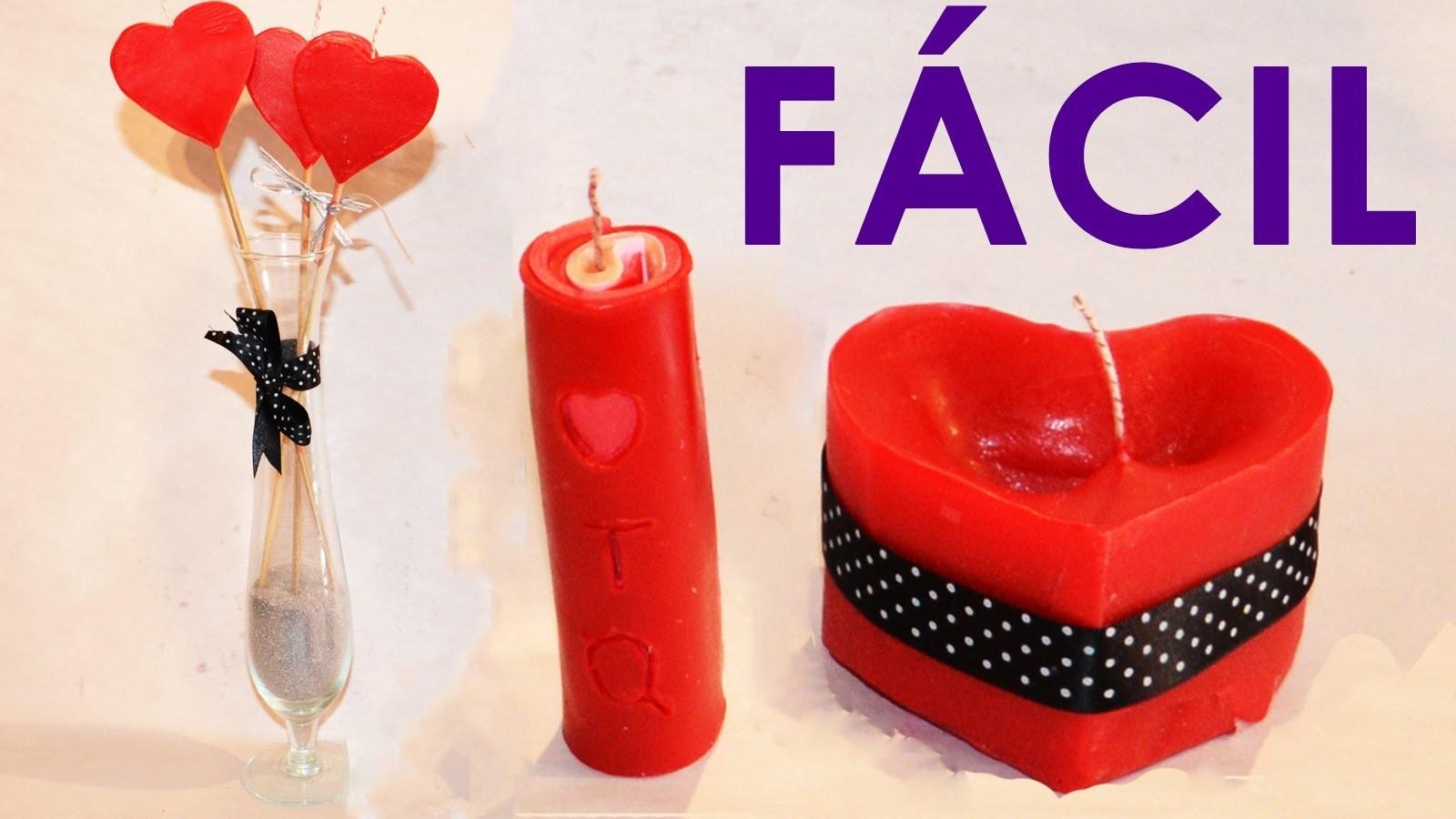 COMO HACER VELAS DECORATIVAS, 3 Ideas fáciles y rápidas para hacer velas | Velas caseras aromáticas
