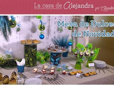 Como Montar una Mesa de Dulces para Navdad DIY Alejandra Coghlan