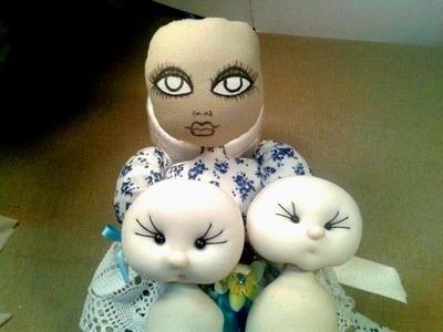 Como pegar cabecitas de muñecas,manualilolis,video-13
