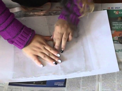 DIY Cartera Transparente. Plastic Clutch
