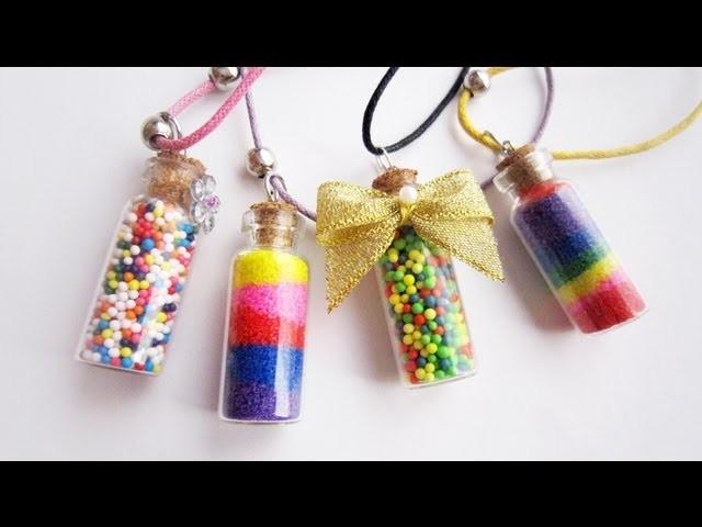 Episodio 596 -Mini Fashion DIY - Collar con Botella de Vidrio