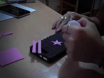 Hacer carcasa para móvil goma eva