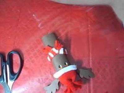 Manualidad: Chocolates navideños un dulce detalle (Parte 2 Reno y  Santa Claus)