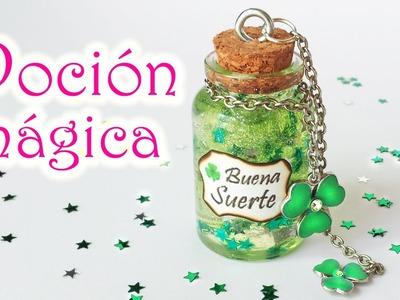 """Manualidades: BOTELLITA con POCIÓN MÁGICA """"Buena Suerte"""" - Innova Manualidades"""