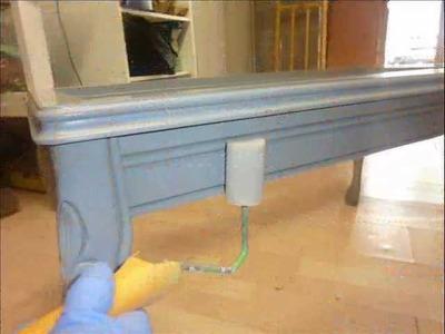 Manualidades y Reciclaje: Como hacer un mueble nuevo de uno viejo :)