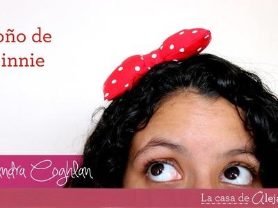 Moño de Minnie Mouse - DIY Minnie Mouse bow