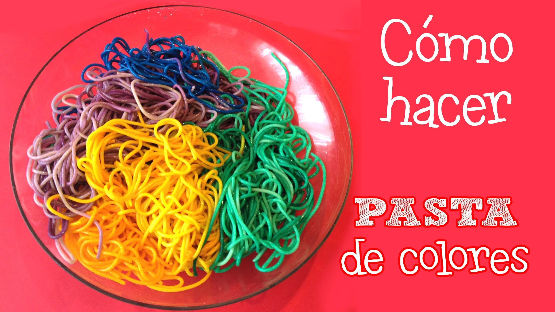 Pasta de colores | Minichefs Cocina para niños