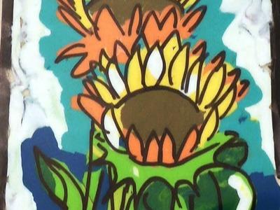 Pintura con plastilina - Manualidades para todos