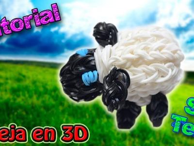 ♥ Tutorial: Oveja en 3D de gomitas (sin telar) ♥