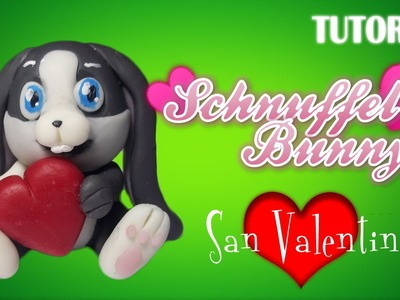 Tutorial Schnuffel en Porcelana Fria. San Valentin. How to make a Schnuffel with Cold Porcelain