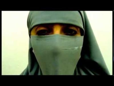 Tutorial: Burka para no musulmanes.  Daniela Medina Poch