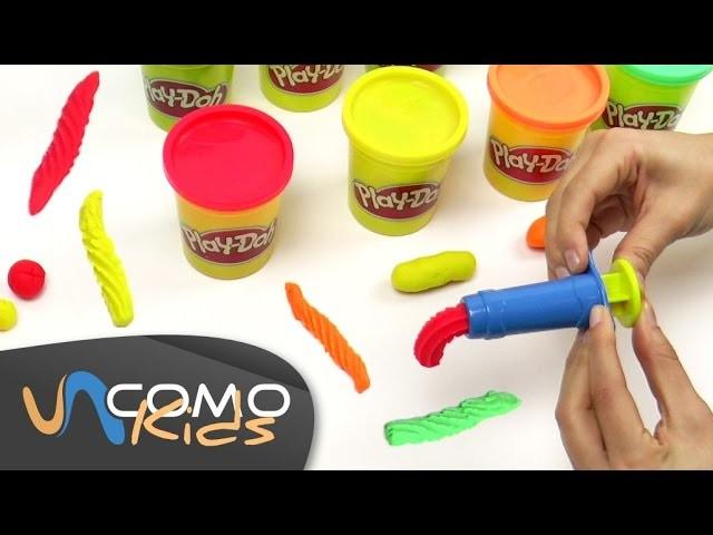 Manualidades con Play Doh para niños