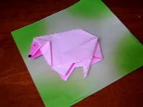 Oveja-origami