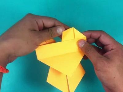 Gato de origami - Ideas con papiroflexia