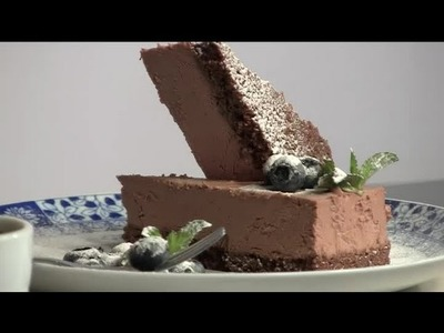 Cómo preparar tarta de queso con chocolate : Postres fáciles y ricos