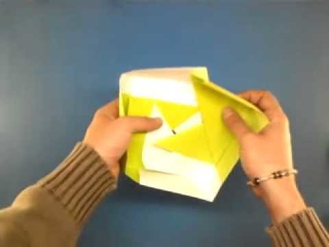 Papiroflexia: cómo hacer una caja de origami
