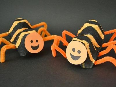 Araña rayada. Manualidad para niños
