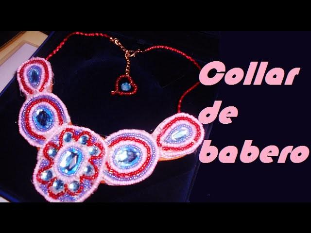 COLLAR TIPO BABERO FACIL. TYPE COLLAR BIB EASY