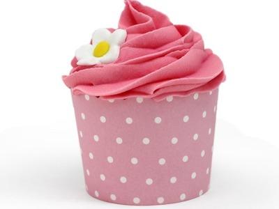 Cómo hacer cupcakes de baño